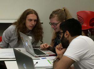Students at Macaulay / CUNY Program, 2015